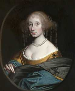 John Scougal - Portrait of a Woman (thought to be Elizabeth Lauder, Countess of Lauderdale)