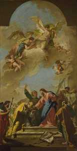Giovanni Battista Pittoni The Younger - Christ's Charge to St Peter