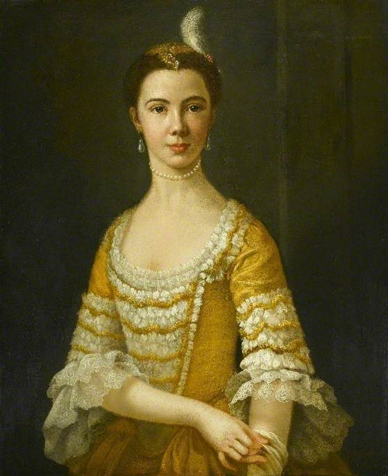 Order Museum Quality Copies | Mary Russell (d.1813), Daughter of Colonel Charles Russell by George Paul Chalmers | WahooArt.com