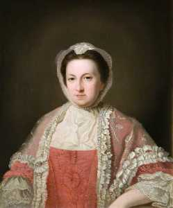 David Allan - Lady Frances Erskine (1716–1776)