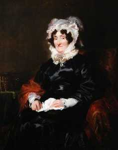 Thomas Francis Dicksee - Mrs Thomas Lee