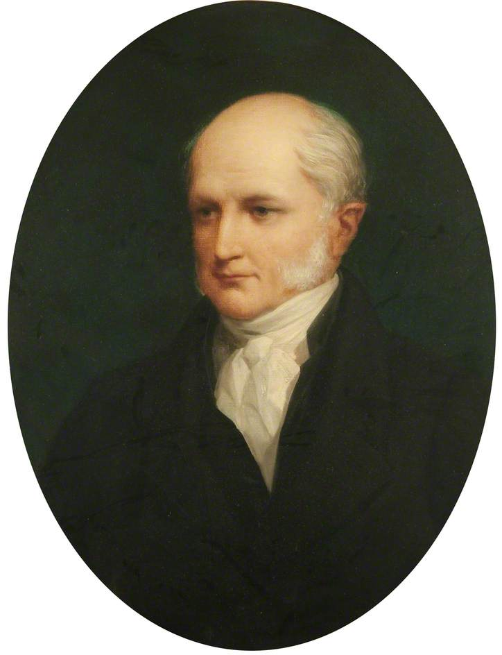 William Prout (1784–1850), Oil On Canvas by Henry Wyndham Phillips