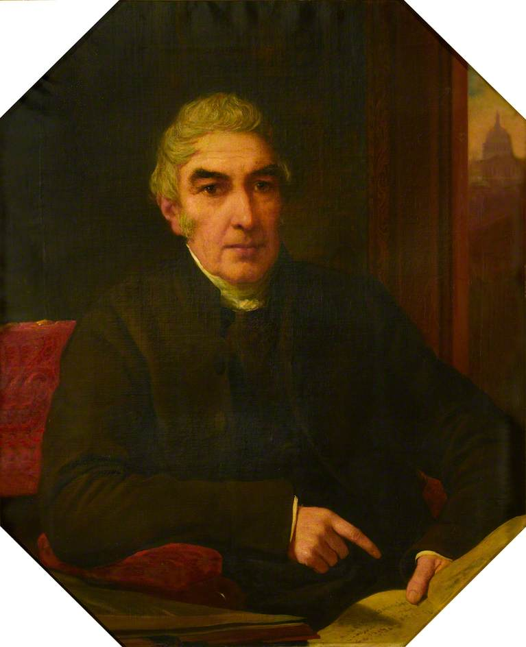 Dean Milman, Oil On Canvas by Henry Wyndham Phillips