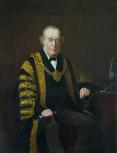Barnett Samuel Marks - Alderman Andrew Fulton, Mayor of Cardiff (1884–1885)