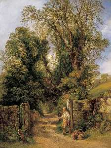 Frederick Henry Henshaw - A Glimpse of Wharfdale, Yorkshire