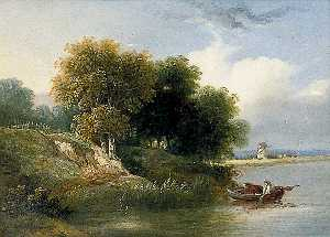 Samuel David Colkett - On the River Yare, Norfolk