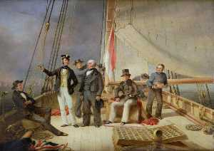 Nicholas Matthew Condy - On Board the Yacht 'Alarm'