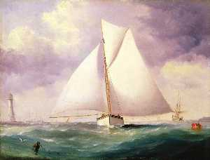 Nicholas Matthew Condy - The Spinnaker Sail (Cutter with a Spinnaker Set)