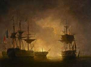 Nicholas Matthew Condy - The Battle of the Nile, 1 August 1798