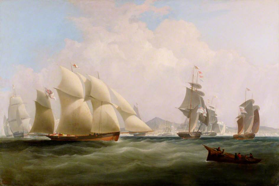 Seascape by Nicholas Matthew Condy (1816-1851) | Museum Quality Reproductions | WahooArt.com