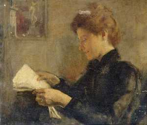 Charles Gogin - My Wife Reading