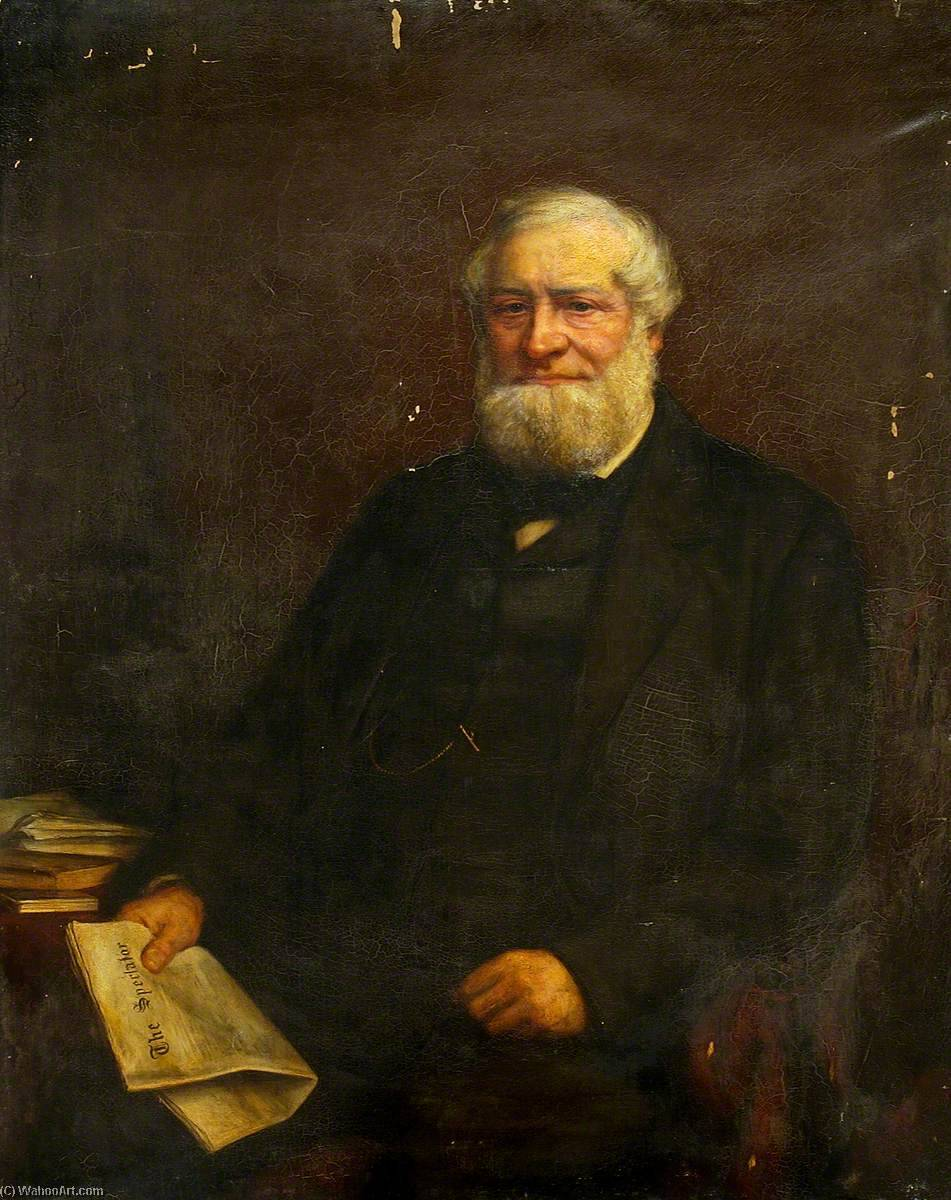 James Alan Ransome, Vice President of Ipswich Working Men`s Club, 1880 by William Robert Symonds | Art Reproductions William Robert Symonds | WahooArt.com