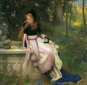 William Robert Symonds - The Princess and the Frog