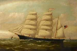 William Horde Yorke - The Clipper 'Vermont'