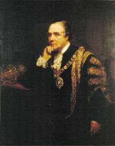 Henry Turner Munns - Sir Thomas Dakin, Lord Mayor of London (1870)