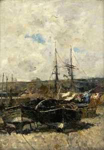 Robert Weir Allan - Crail Harbour