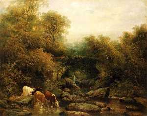 William Widgery - Fingle Bridge, Devon