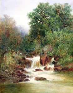 William Widgery - View in Gidley Park, Devon