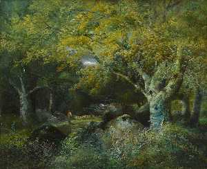 William Widgery - Beechwood Scene