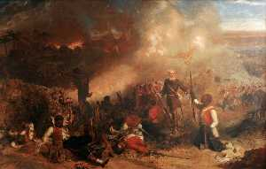 Louis William Desanges - The Capture of Tubabecelong, Gambia