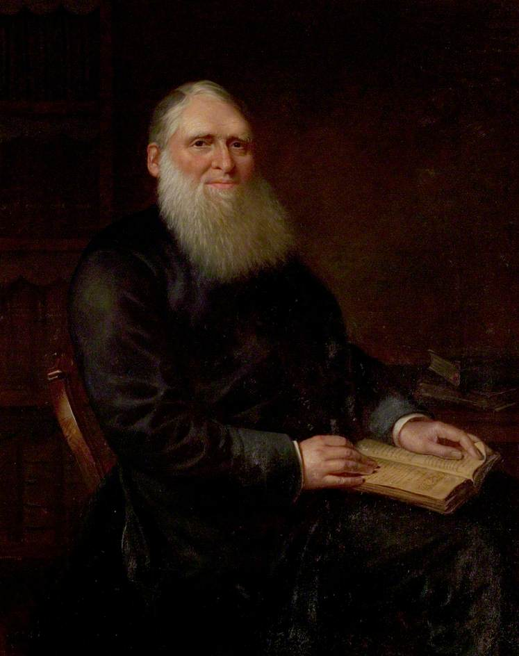 Thomas Rees (1815–1885), Oil On Canvas by Ap Caledfryn