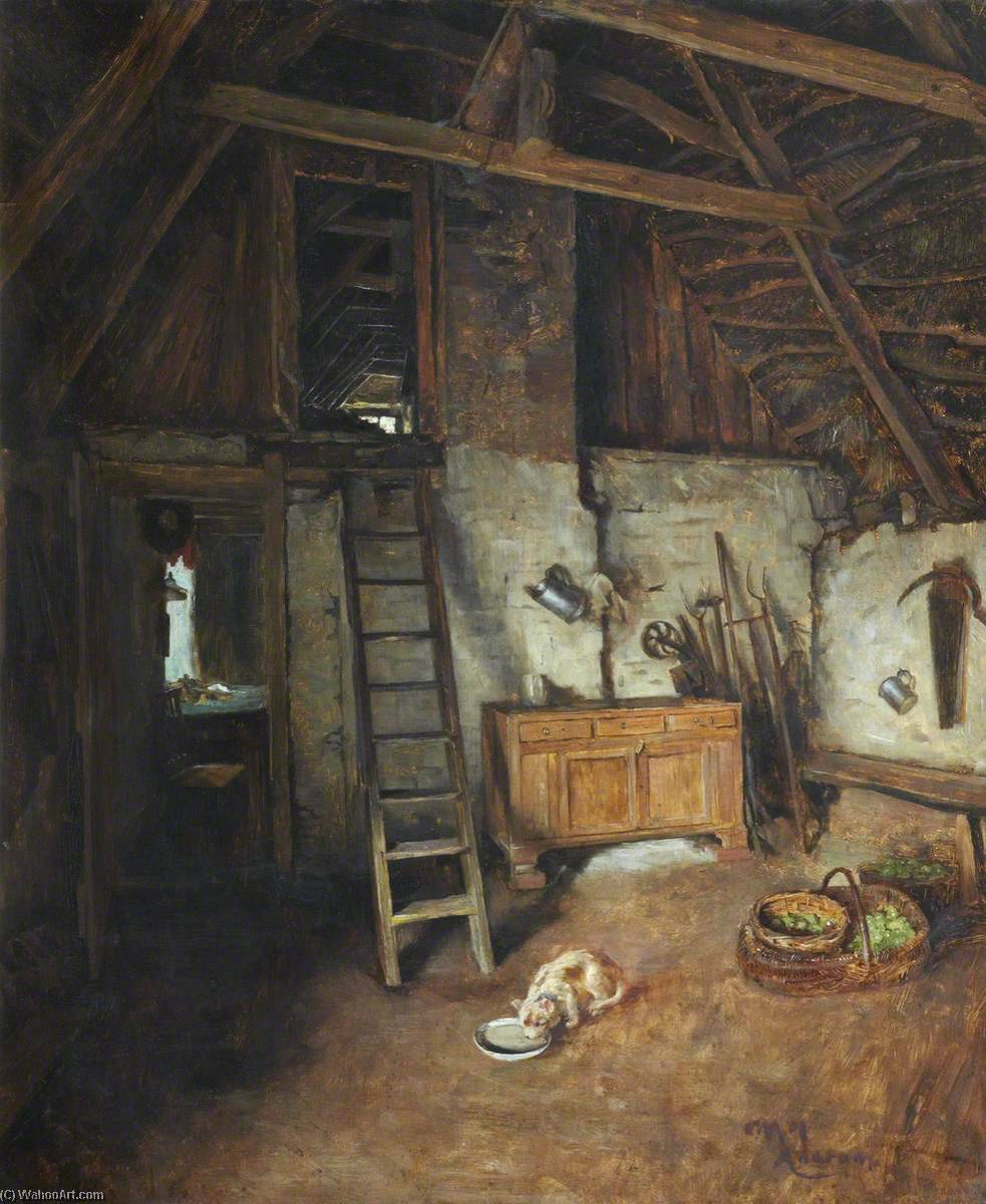 Interior, Ancrum, 1916 by Charles Martin Hardie | Art Reproduction | WahooArt.com