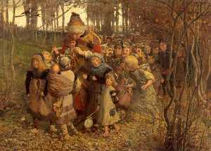 James Elder Christie - The Pied Piper of Hamelin