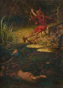 James Elder Christie - The Red Fisherman