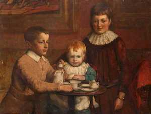 James Elder Christie - Three Children