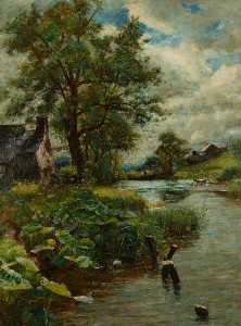 Joshua Anderson Hague - The Mill Pool