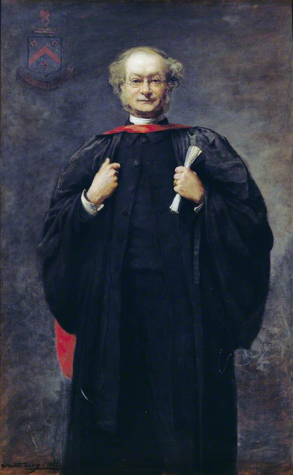 The Reverend Alfred James Carver (1826–1909), 1882 by Samuel Melton Fisher | WahooArt.com