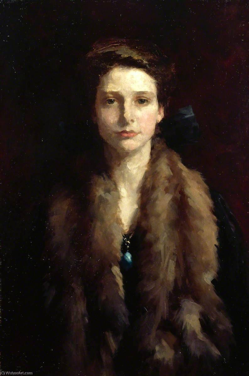 Winifred, Oil On Canvas by Samuel Melton Fisher
