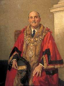 Arnold Mason - Alderman W. E. Thomas, Mayor of Gravesend (1921 1922)