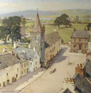 Charles Oppenheimer - From a Tower, Kirkcudbright