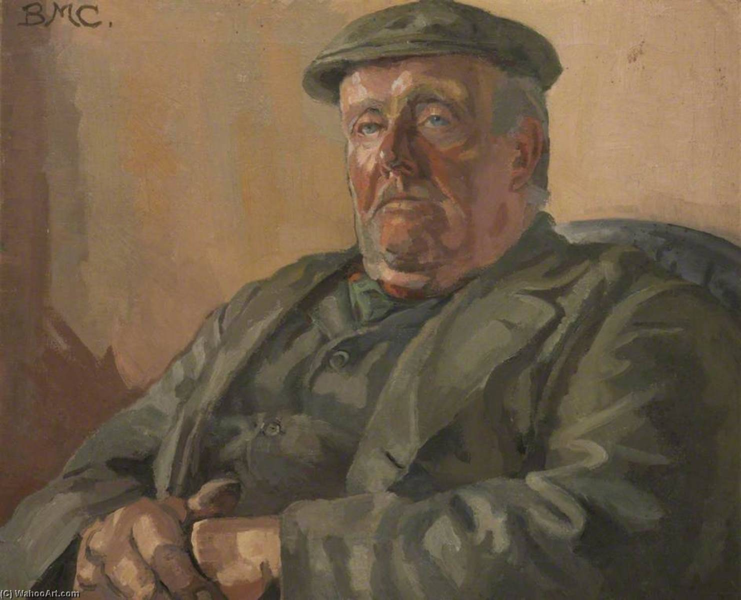 Thomas Dugdale, Stonewaller, Oil On Canvas by Beryl Fowler