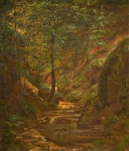 George Cartlidge - Woodland Scene