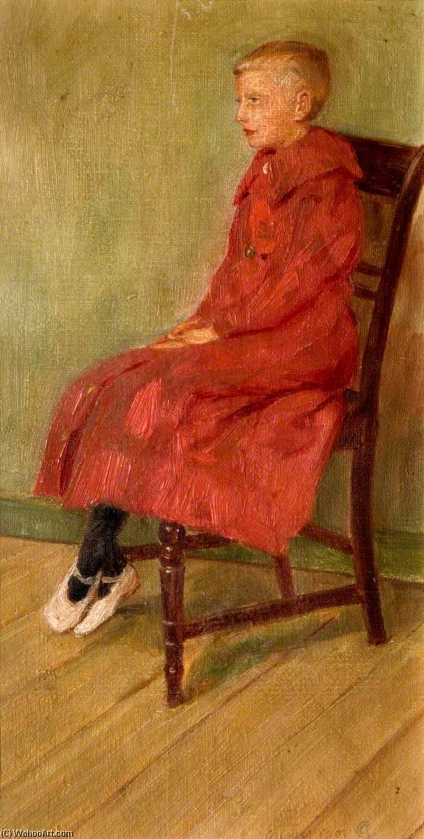 Boy in Red, 1901 by George Cartlidge | WahooArt.com