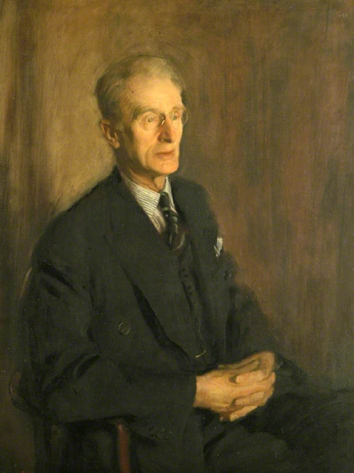 Sir Charles Tennyson, 1954, Oil On Canvas by Norman Hepple