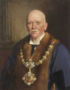 John Dalzell Kenworthy - Portrait of a Mayor of Whitehaven