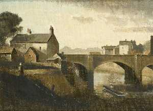 Philip Hugh Padwick - Bridge at Arundel, West Sussex
