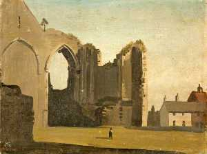 Philip Hugh Padwick - Ruins of Winchelsea Church, East Sussex