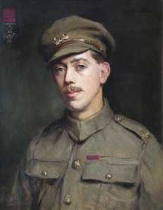 Order Museum Quality Copies | Trooper Frederick William Owen Potts (1893–1943), VC, 1917 by Percy Harland Fisher | WahooArt.com