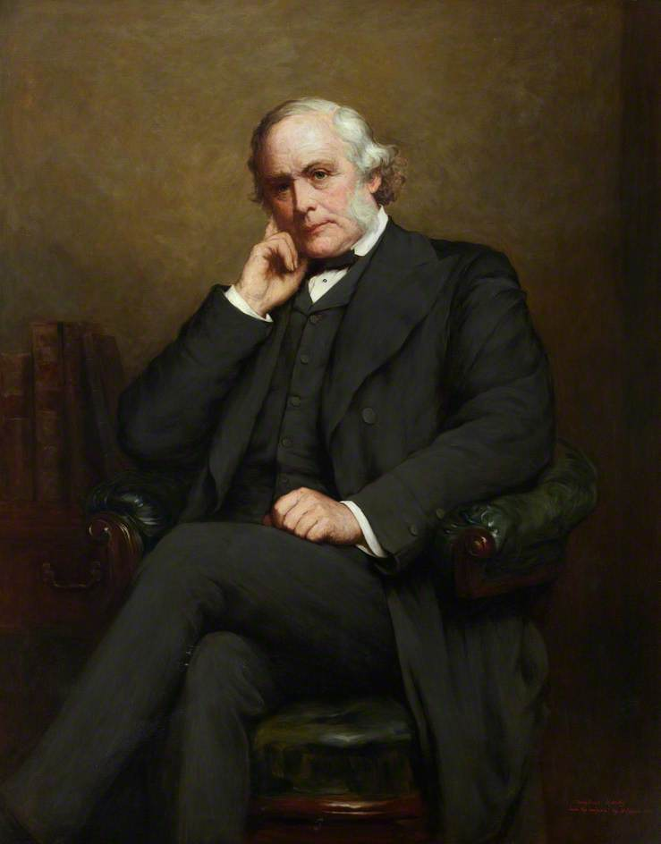 Joseph Lister (1827–1912), FRCSEd (1855) (after Walter William Ouless), 1900 by Dorofield Hardy | Museum Quality Copies Dorofield Hardy | WahooArt.com