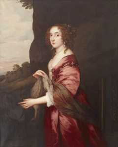 Dorofield Hardy - The Honourable Elizabeth Hervey (c.1610 1620–1700), The Honourable Mrs John Hervey (after Anthony van Dyck)