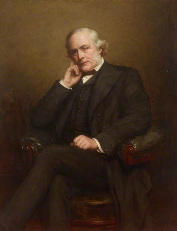 Joseph Lister (1827–1912), 1st Baron Lister of Lyme Regis (copy after Walter William Ouless), Oil On Canvas by Dorofield Hardy