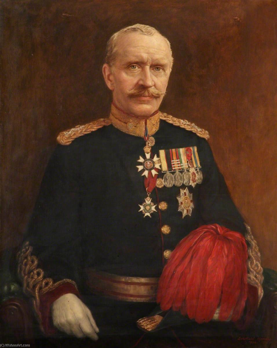 Major General Sir Frederick Smith, Oil On Canvas by Dorofield Hardy