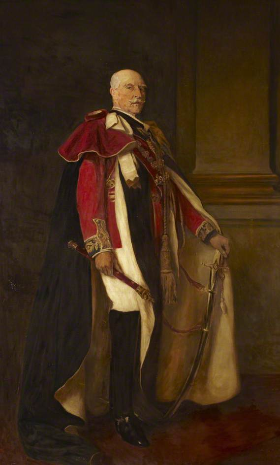 Duke of Connaught, Oil On Canvas by Dorofield Hardy