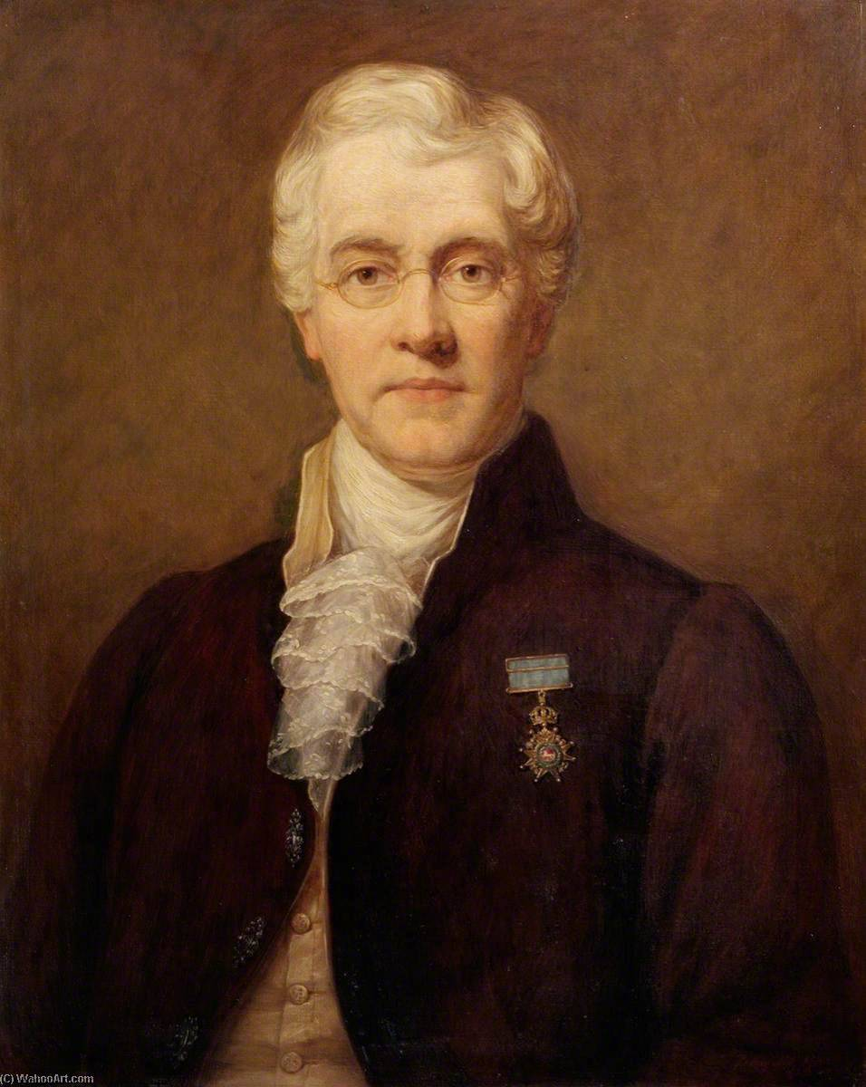 Sir Charles Bell (1774–1842), Oil On Canvas by Dorofield Hardy