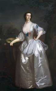 Dorofield Hardy - Called -Cecil Matthews, Mrs Talbot-, but Probably -Mary de Cardonnel, Lady Talbot (c.1719–1787)-
