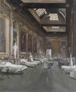 Dorofield Hardy - The Ballroom, Londonderry House, 1912 (copy of John Lavery)